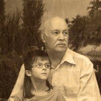 Дед и Внук :: Бурлака Андрей