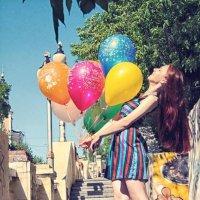 Фотосессия с шариками :: Сергей Горбенко