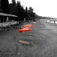 Утренний пляж :: Александр Петряев