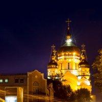 Вечерний Спасо-Преображенский собор Хабаровск :: Сергей Рубан
