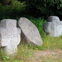 Поклонные придорожные камни. XV в. :: Лидия Вихарева