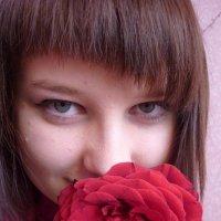 алая роза :: Галина Рогулева