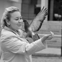 Любовь и голуби :: Asya Piskunova