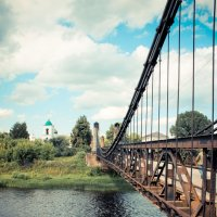 древний мост :: Елизавета Коноплянникова