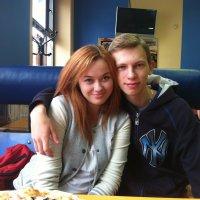 Мы с Серёжкой :: Александра Бондарчук