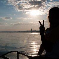 Закат над Волгой :: Юлия Благова