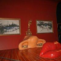 """Комната-иллюзия, сделанная на основе картины """"Лицо Мэй Уэст"""" :: ИРЭН@ ."""