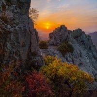 Скальный хребет на Бештау :: Фёдор. Лашков