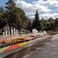 Фонтан в честь 30-летия Победы в Великой Отечественной войне. Самара :: MILAV V
