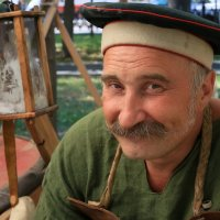 Лукавая улыбка военного кузнеца. :: Николай Кондаков