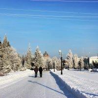 Зима... :: раиса Орловская