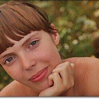 Эти глаза напротив... :: Лидия (naum.lidiya)