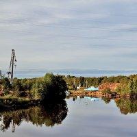 Место  слияния Мариинского канала с рекой Ковжа :: Nikolay Monahov