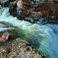 зимой у водопада :: Elena Wymann