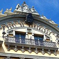 Фрагмент административного здания порта Барселоны. :: Владимир Драгунский