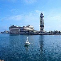 В порту Барселоны. :: Владимир Драгунский