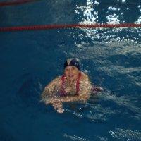 Пловчиха. :: Венера Чуйкова