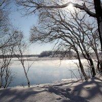 зимняя река... :: Ирина Родионова -(Мозерова)