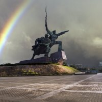 Памятник Солдату и Матросу :: Анна Пугач