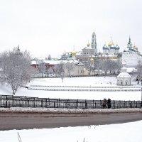 Свято-Троицкая Сергиева Лавра в Сергиевом Посаде :: Леонид leo