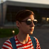 Портрет во время заката :: Виталий