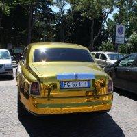 Золотой  Rolls-Royce. :: Лира Цафф