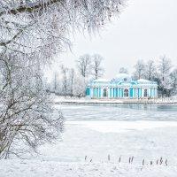 Грот и снежные деревья :: Юлия Батурина