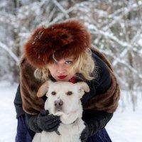 Собака друг человеку! :: Юлия Астратенко
