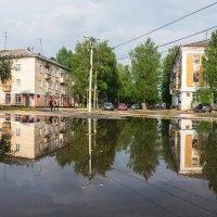 Бывает такое,что и в родном городе Венеция после ливня) :: Николай Зиновьев