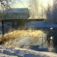 Мороз и солнце... :: Нэля Лысенко