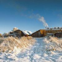 Про зимнюю деревню, краски, свет полуденный... :: Александр Никитинский