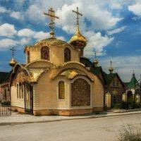 Строящийся храм. :: Анна Пугач