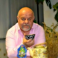 Чай хорош после мороза. :: Михаил Столяров