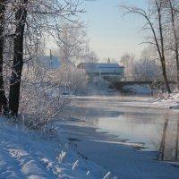 Тихо падал снег... :: Нэля Лысенко