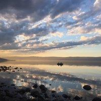 Летний закат на Байкале :: Maksim Udobkin