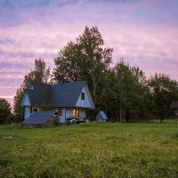 Домик в деревне. :: Олег Бабурин
