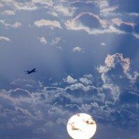 Тают грозовые облака :: Александр Коган