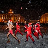 Морозы бегут! :: Сергей Вахов