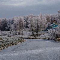 Храм у реки Оккервиль :: Юрий Велицкий