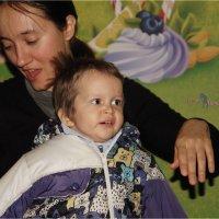 Владик с мамой. :: Anatol Livtsov