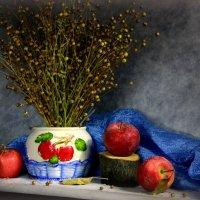 С красными яблоками... :: Нэля Лысенко