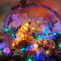 Новогодние огоньки :: Надежда Лаптева