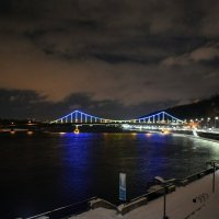 Киев. Днепр. Мост на Труханов остров :: Татьяна Ларионова