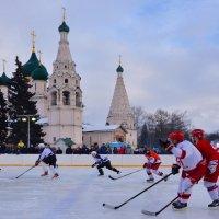Хоккей в Ярославле :: Татьяна Каневская