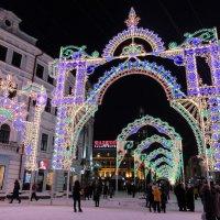 Казань. Новогодняя арка желаний. :: * vivat.b *