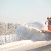 Расчистка снежных заносов :: Евгения Полякова