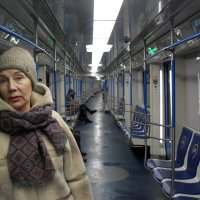 В московском метро 1 января 2019  в 17.00 :: Надежда