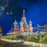 Новогодний Собор Василия Блаженного :: Юлия Батурина