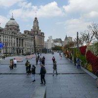 Еще немного о зданиях на набережной Бунд в Шанхае (Китай) :: Юрий Поляков