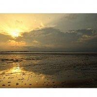 Закат... Озеро Сасык-Сиваш... Sunset... Lake Sasyk-Sivash... :: Сергей Леонтьев